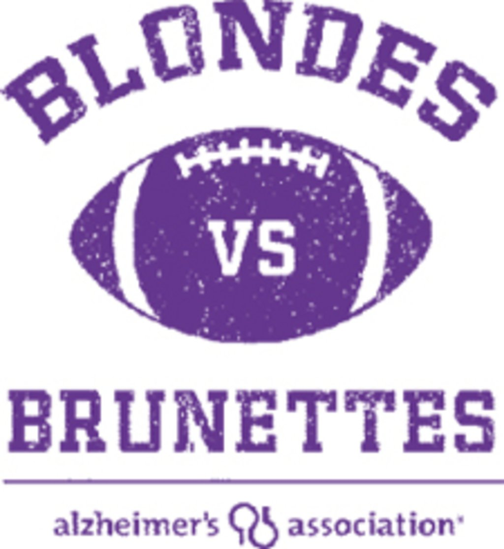 Blonde vs. Brunettes Flag Football Game: June 2
