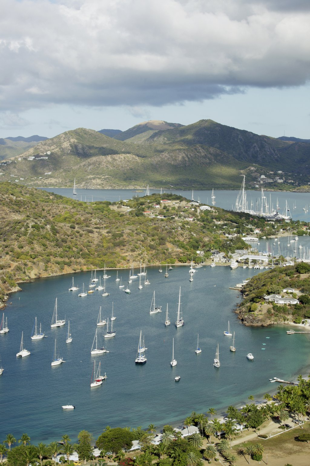 english harbour antigua caribbean island sailing