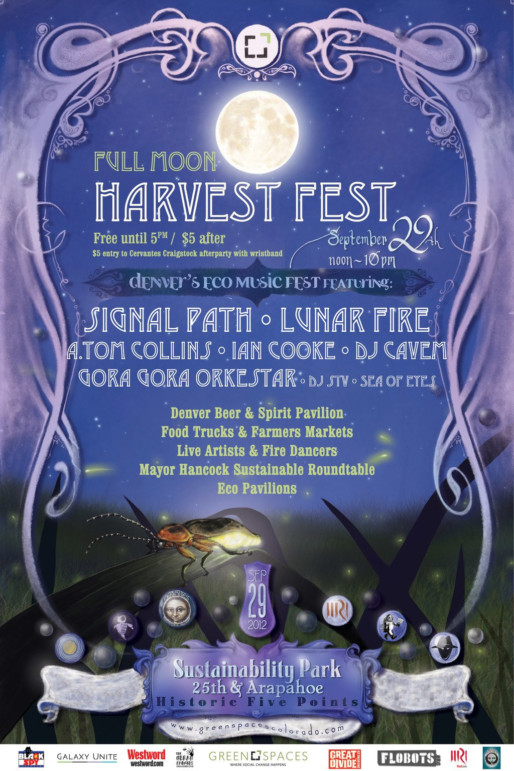 Photo provided courtesy of Green Space's Full Moon Harvest Festival