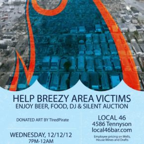 Denver Locals Throw a Benefit for Hurricane Sandy Victims