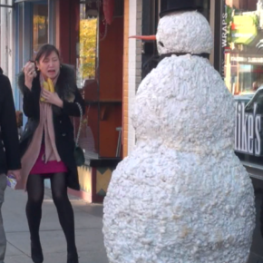 Freaky the Scary Snowman: Prank Videos that Promise a Laugh (and a Scare)