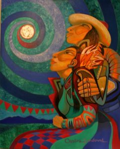 Moon Lovers by Carlos Sandoval.