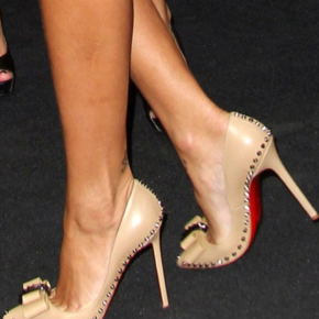 "Christian Louboutin's ""Lucifer"" stilettos are perfect for a dressy occasion."
