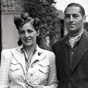 A photograph of Nena and Andrew Goodman, Malloy's grandparents.  © 2013 Entertainment One Films US