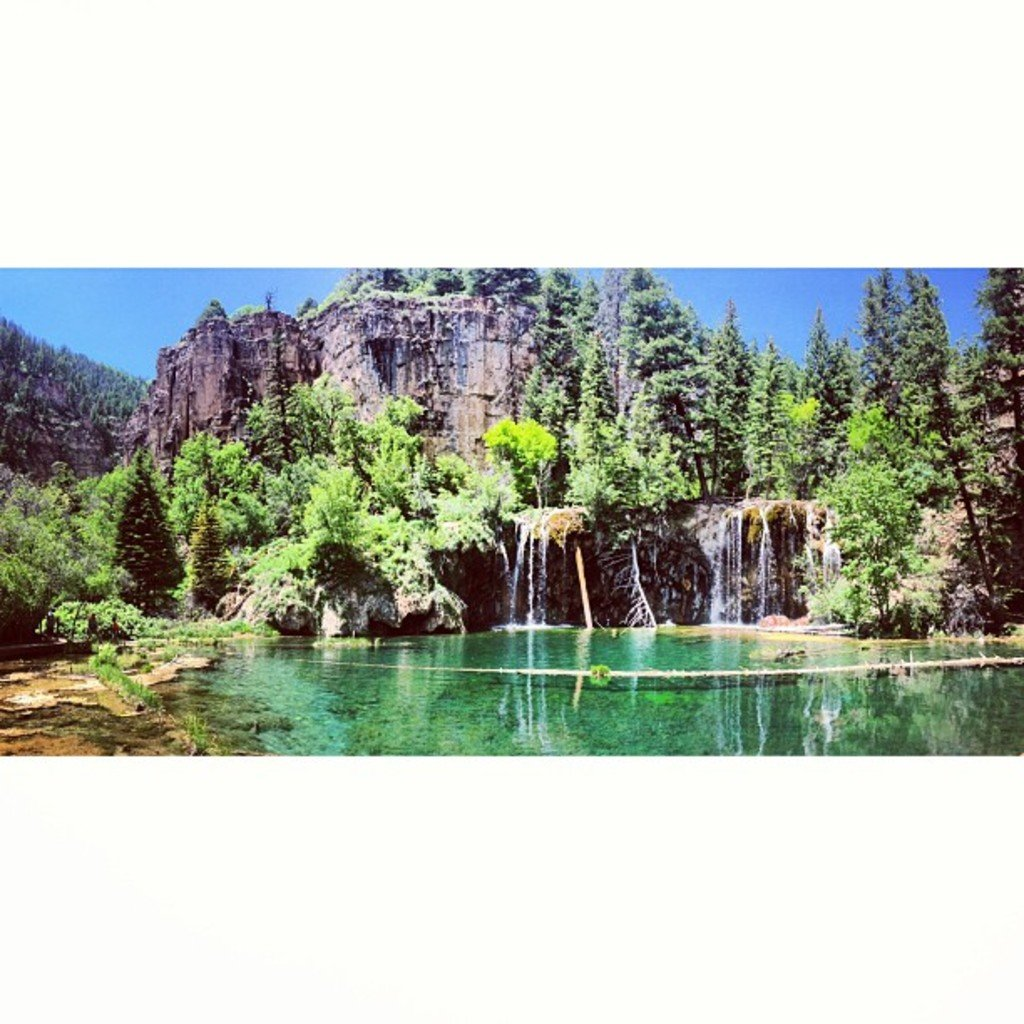 Hanging lake co, Hanging lake trail