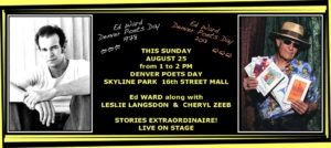 Denver Poets Day - August 25th, 2013