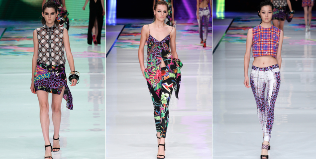 Just Cavalli Spring 2014 Show in Milan Photo Courtesy of Style.com