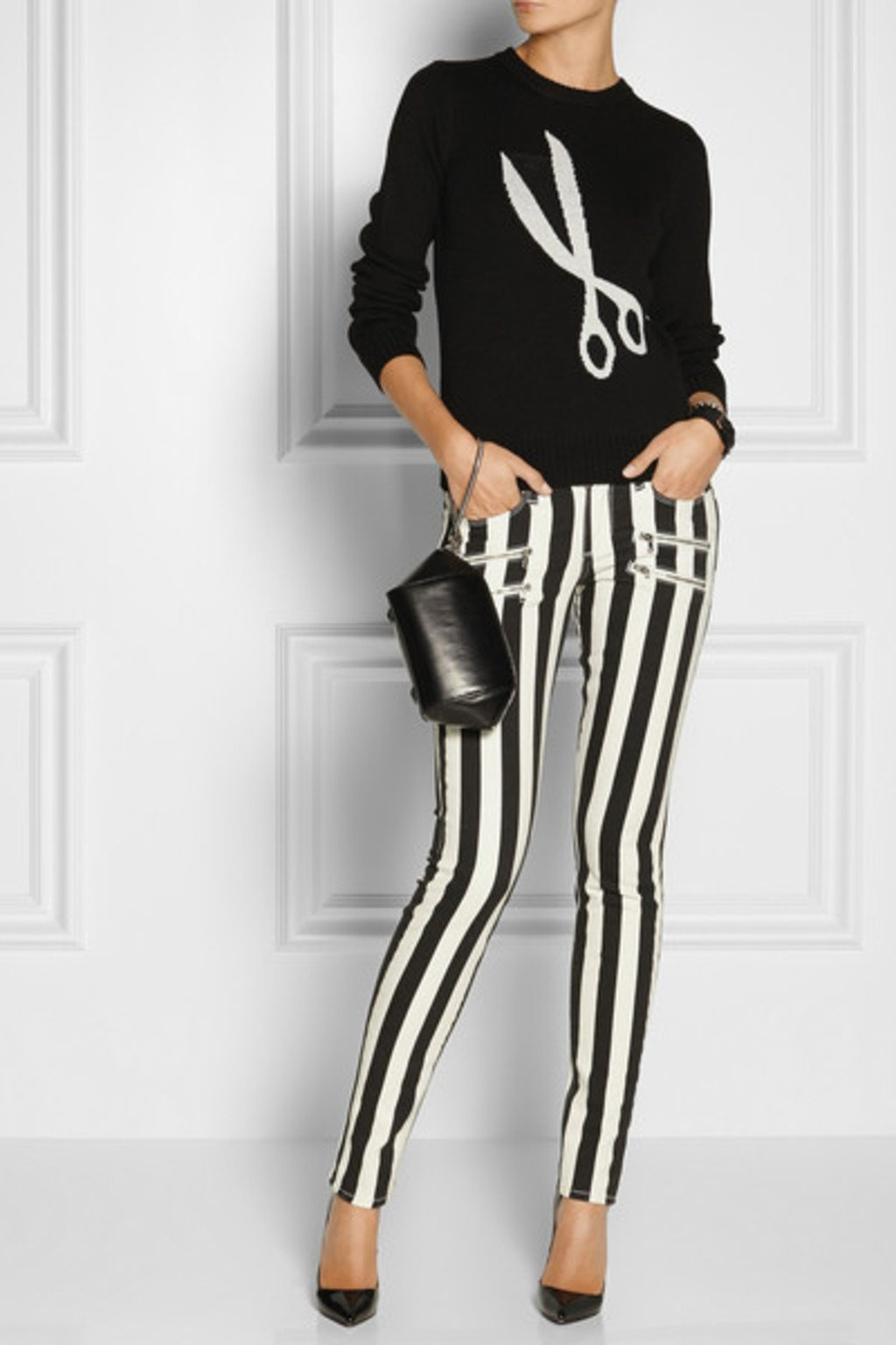 BLACK AND WHITE CONTRAST Photo Courtesy of Paige Denim