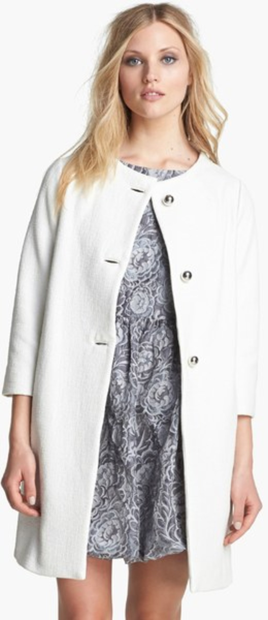 WHITE OUTERWEAR - KATE SPADE NEW YORK PHOTO COURTESY OF NORDSTROM