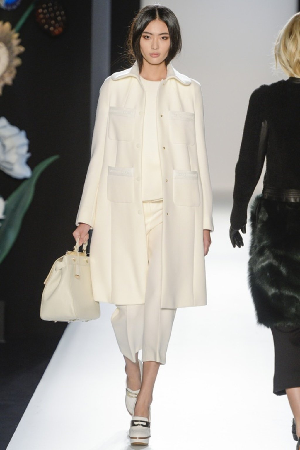 MONOCHROMATIC WHITE - MULBERRY  Photo Courtesy of Vogue France