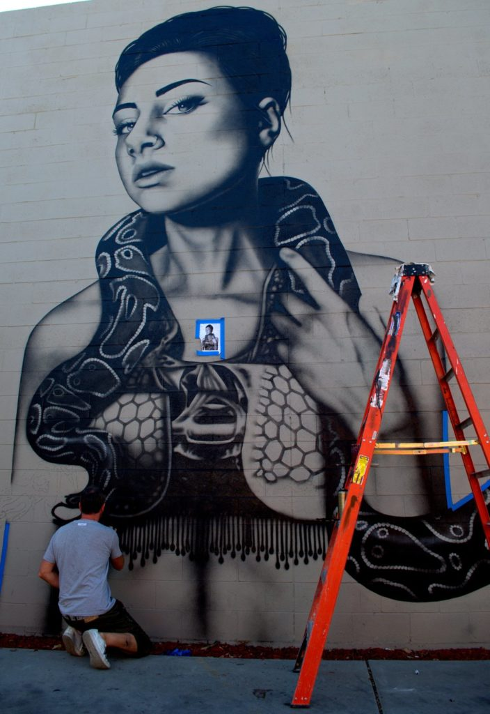 Fin Dac on the grind in Denver.