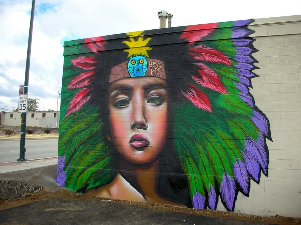 New Mural by Saten