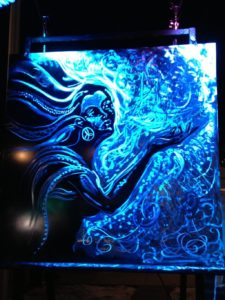 """Winter Goddess"" - Erik Rieger - Created at the White Out - Art of Winter Event February 2013"