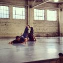 Liat Dror Nir Ben Gal Dance Company in rehearsal at Junction Box