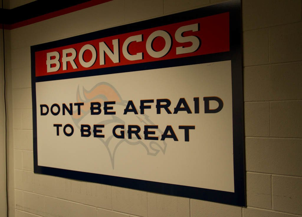 Photo from the Denver Broncos Crush Night Out for women. Photo by Crystal Rhea.