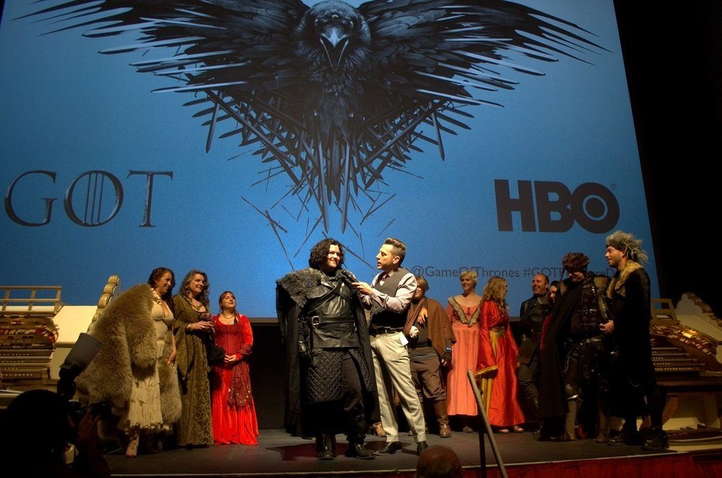 Game of Thrones Costume Contest Winner with Chris Parente