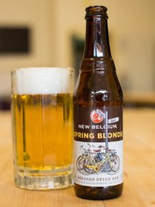 Spring Blonde by New Belgium, photo by Camille Breslin