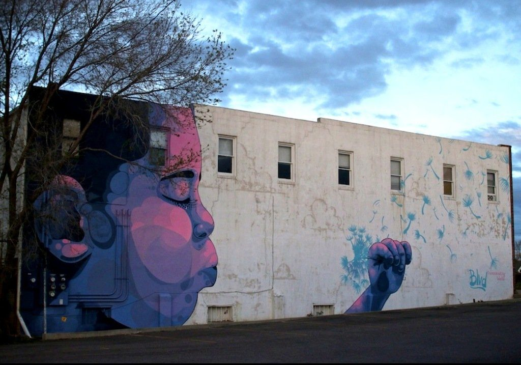 BLVD mural, Photo by Denver Street Art