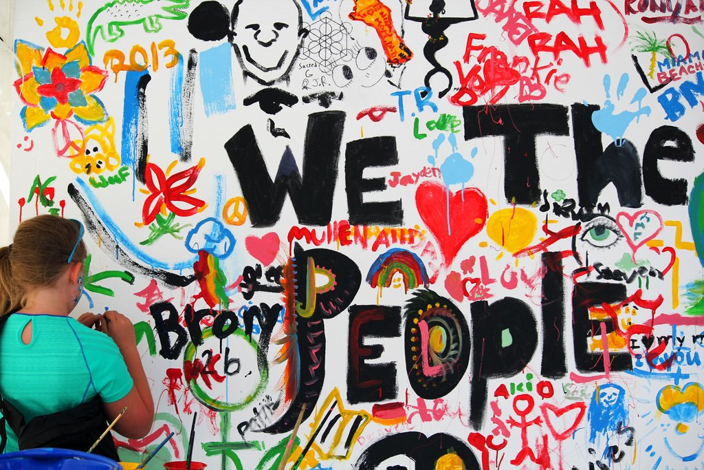 People's Fair Youth Mural