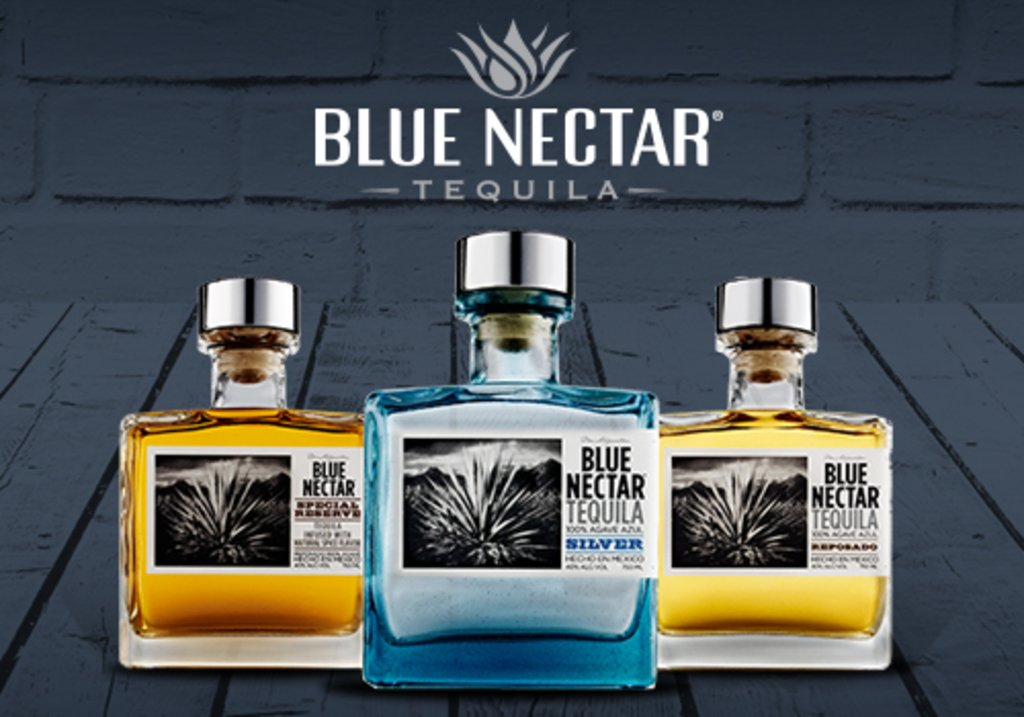 Blue nectar tequila tasting