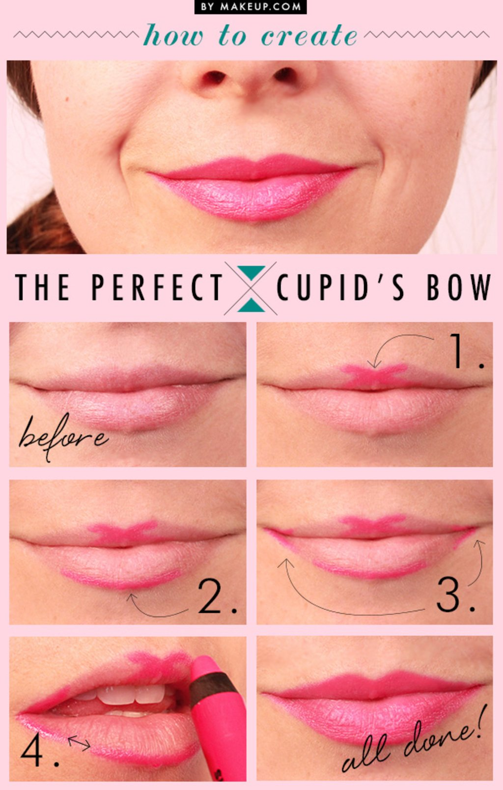 How to create the perfect Cupid's Bow Photo Makeup.comPhoto Makeup.com