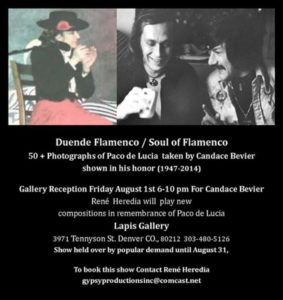 Candace Bevier-Heredia Art Reception at Lapis Gallery