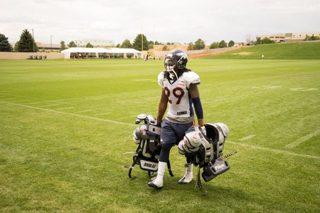 denver broncos training camp, 2014, bradley roby, rookie,