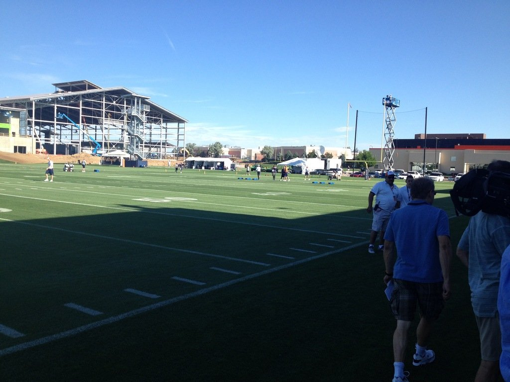 denver broncos training camp, dove valley, 2014