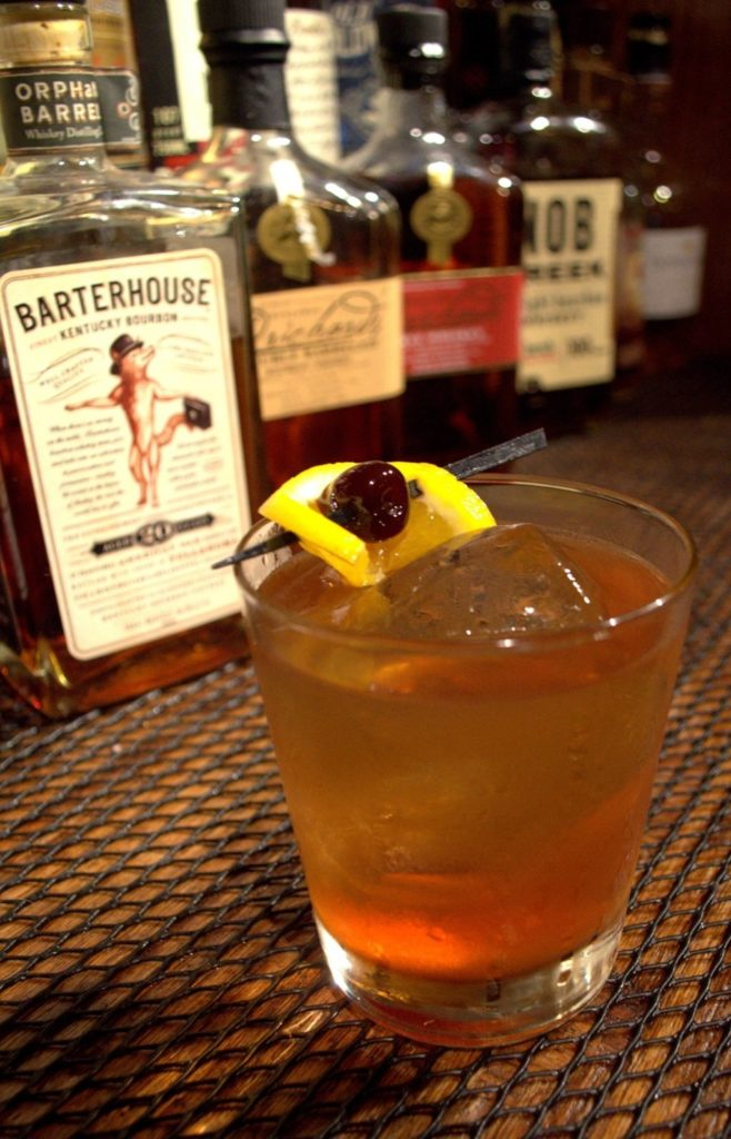 The Old Fashioned at License No. 1, photo by Lindsey Bartlett.