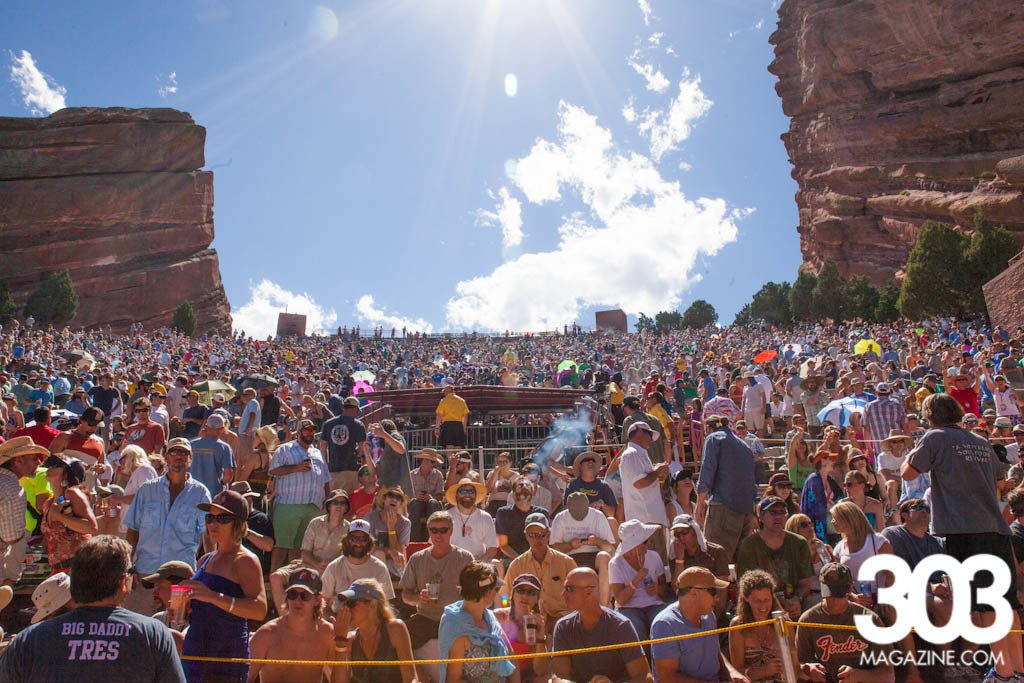 Red Rocks Amphitheatre, photo taken at the Widespread Panic show by Jackie Collins.