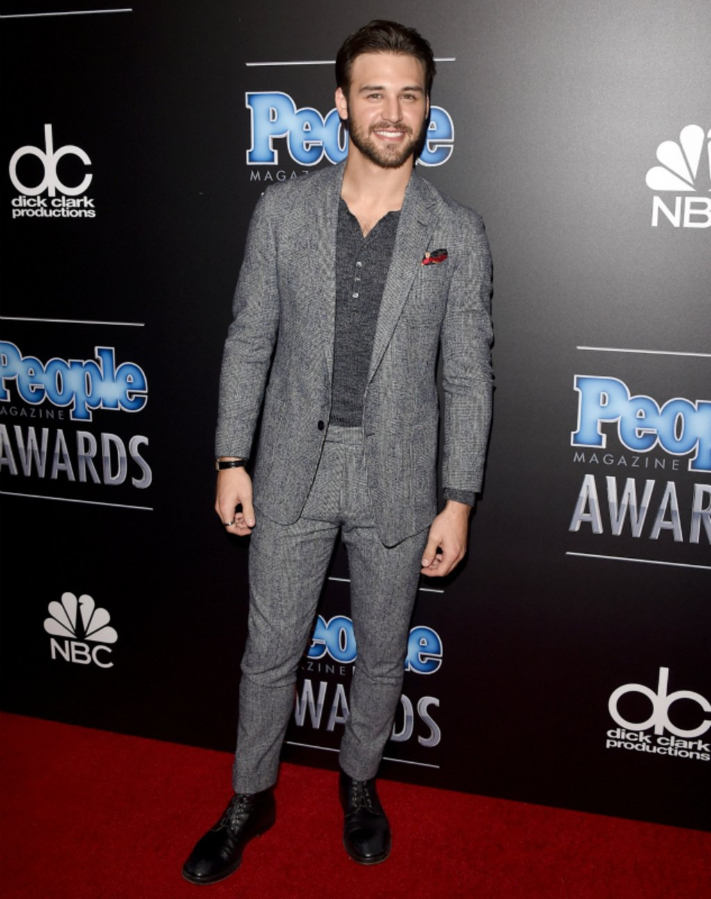 Ryan Guzman is notably the best dressed man at the People's Awards