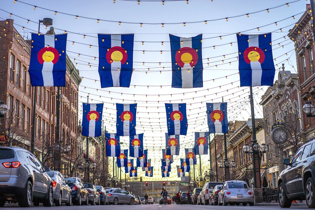 colorado flags larimer square, Larimer Square, Larimer Square restaurants, 303 magazine, where to eat on Larimer square,