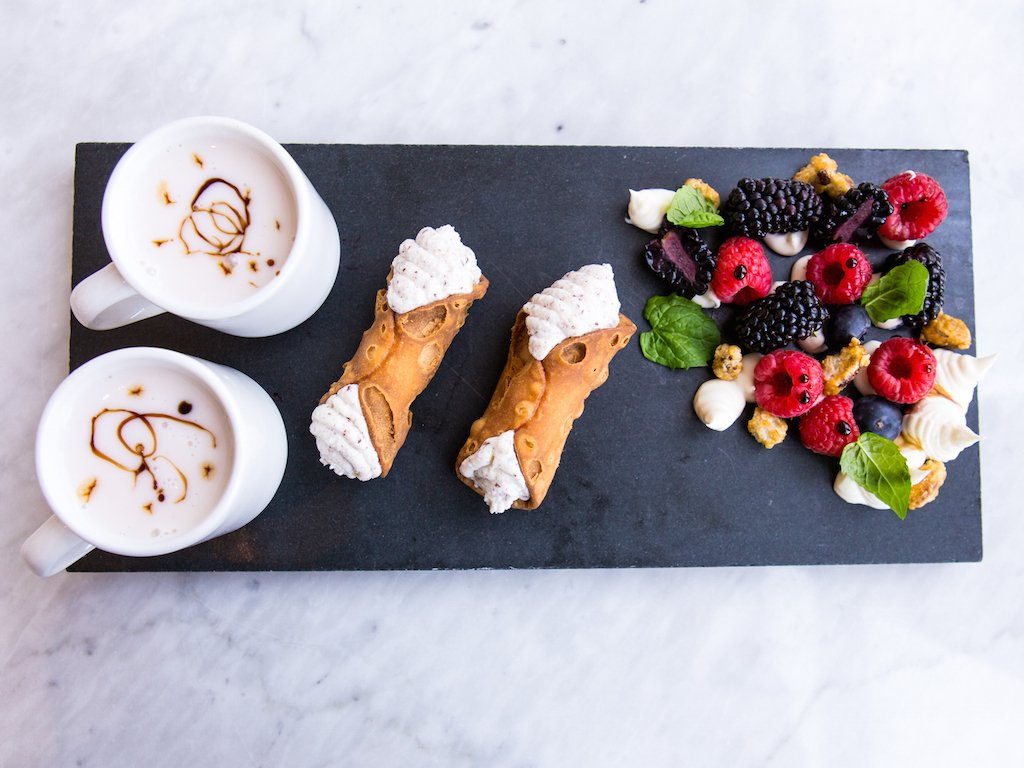 Sarto's desserts. Photo by Camille Breslin.