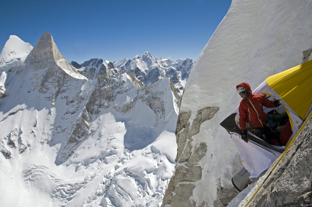 Meru Expedition, Garwhal, India - Photo courtesy of Jimmy Chin merufilms.com