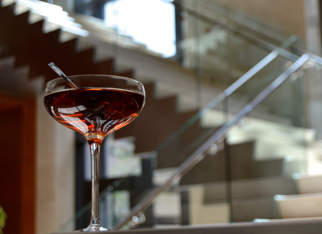 Pecan Manhattan, Whiskey, Manhattan, EDGE at Four Seasons, Four Seasons Denver, EDGE Restaurant & BAr