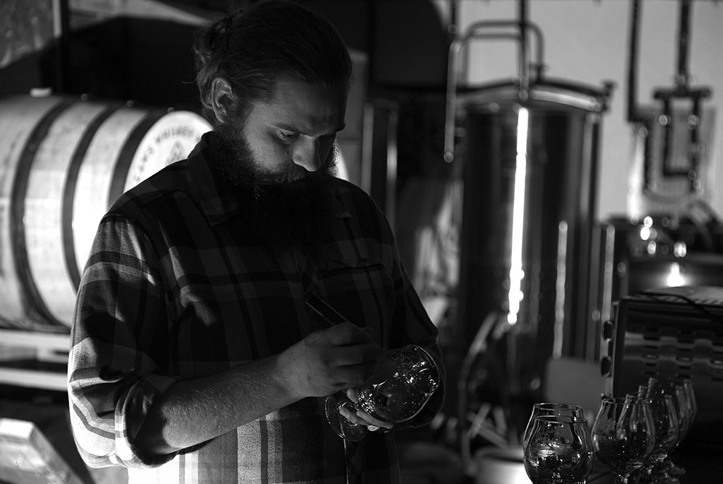 Baere Brewing Company owner Kevin Greer. Photo by Dustin Hall.