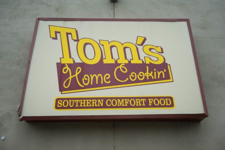 Tom's Home Cookin closed