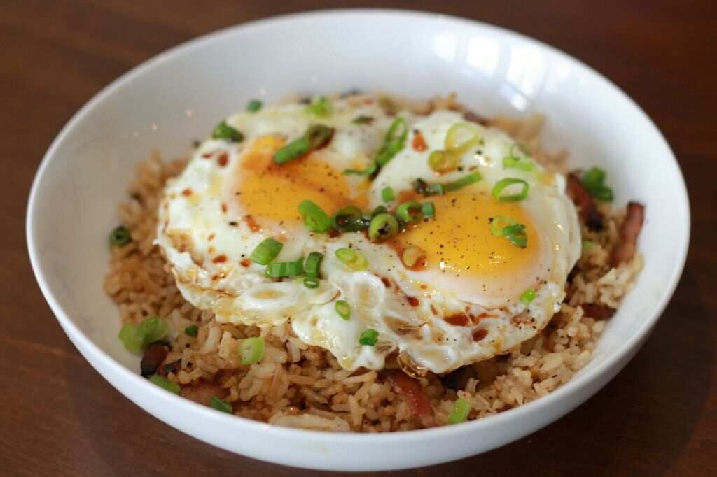 Bacon Fried Rice. Photo by Romeo Fernandez. Best Denver Brunch 2015