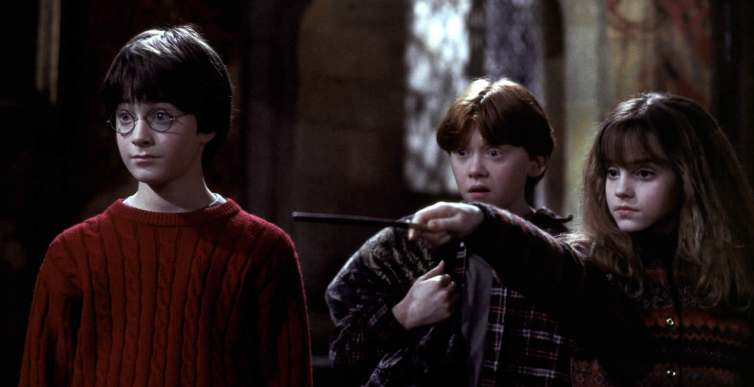 Harry Potter and the Sorcerer's Stone via Plugged In