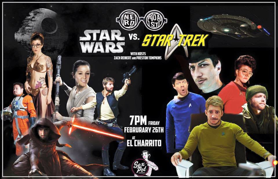 Nerd Roast: Star Wars vs Star Trek