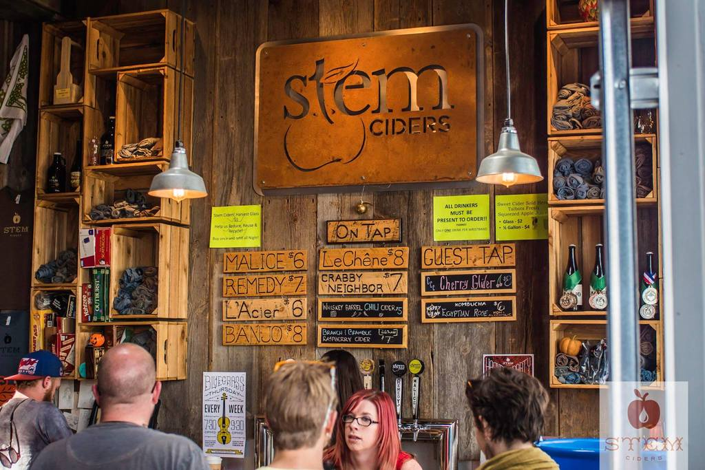 Photo courtesy of Stem Ciders.