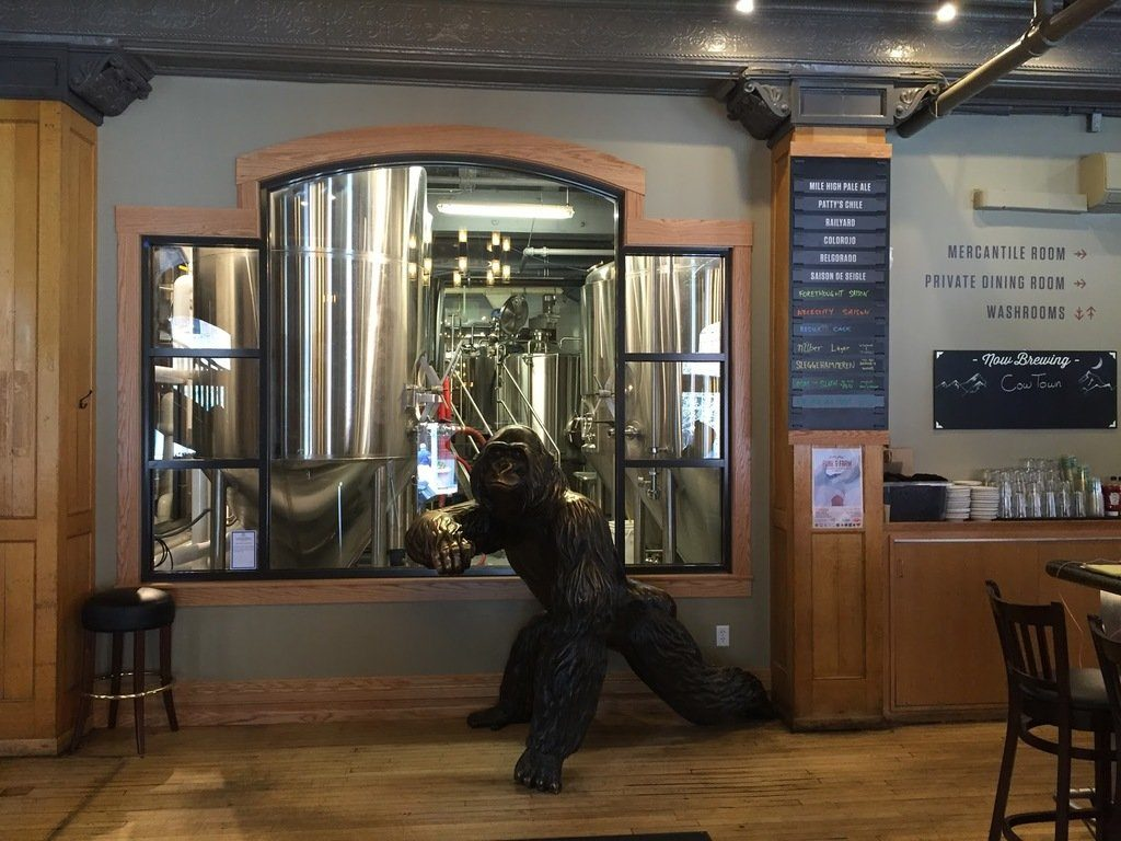 Wynkoop Brewing Company. Photo Courtesy of Wynkoop Brewing Company.