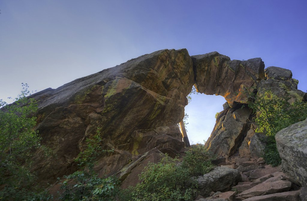 Royal Arch in Boulder, Colorado.