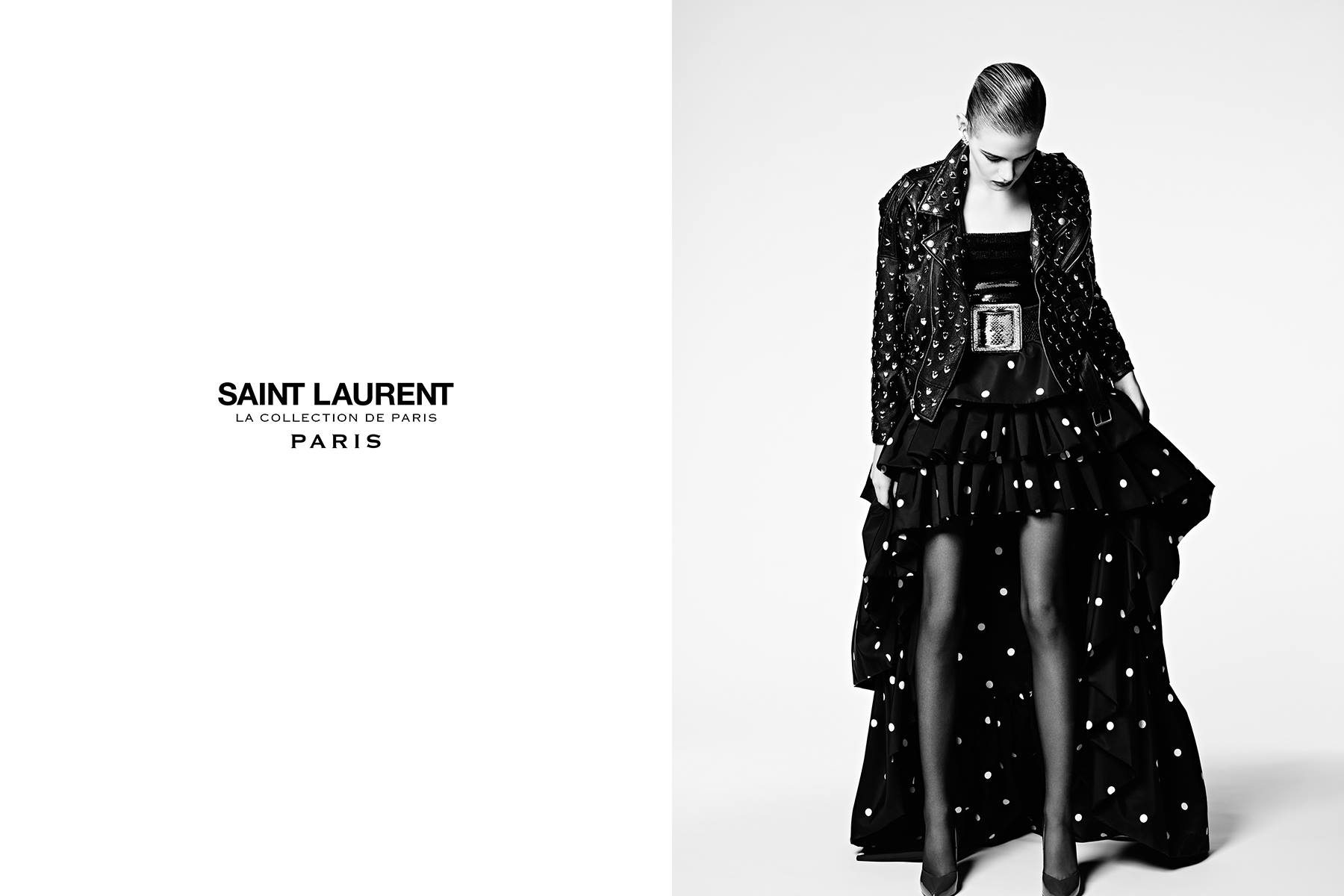 Saint Laurent will host a trunk show at Neiman Marcus. Photo courtesy of Saint Laurent on Facebook.