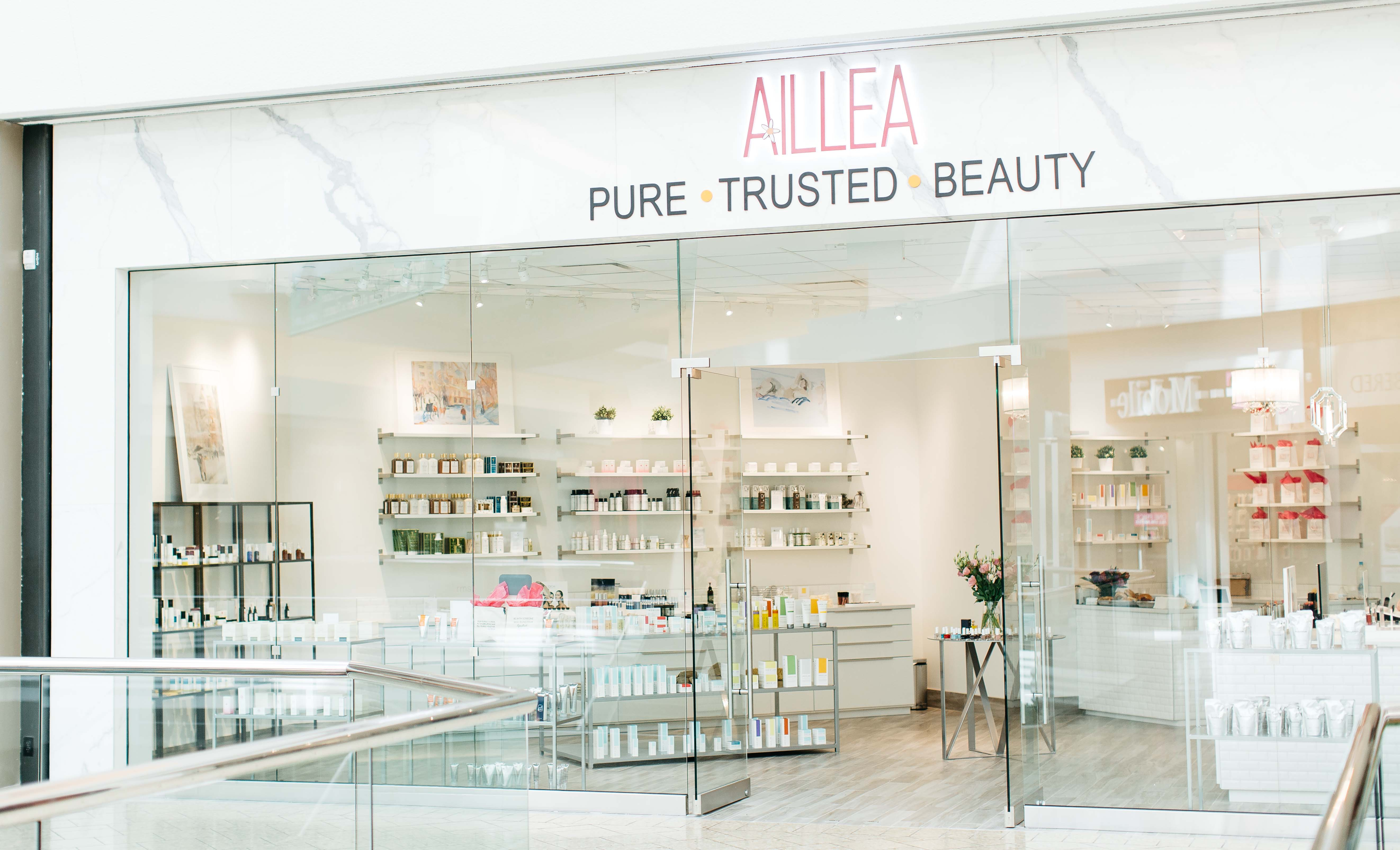 AILLEA Store Front in Cherry Creek - All Images by McKenzie Coyle