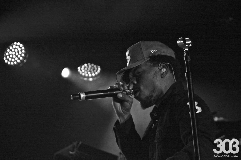 303 Magazine, Chance the Rapper, Francis and the Lights, Jay Electronica, The Fillmore, FIllmore, Denver, Will Sheehan