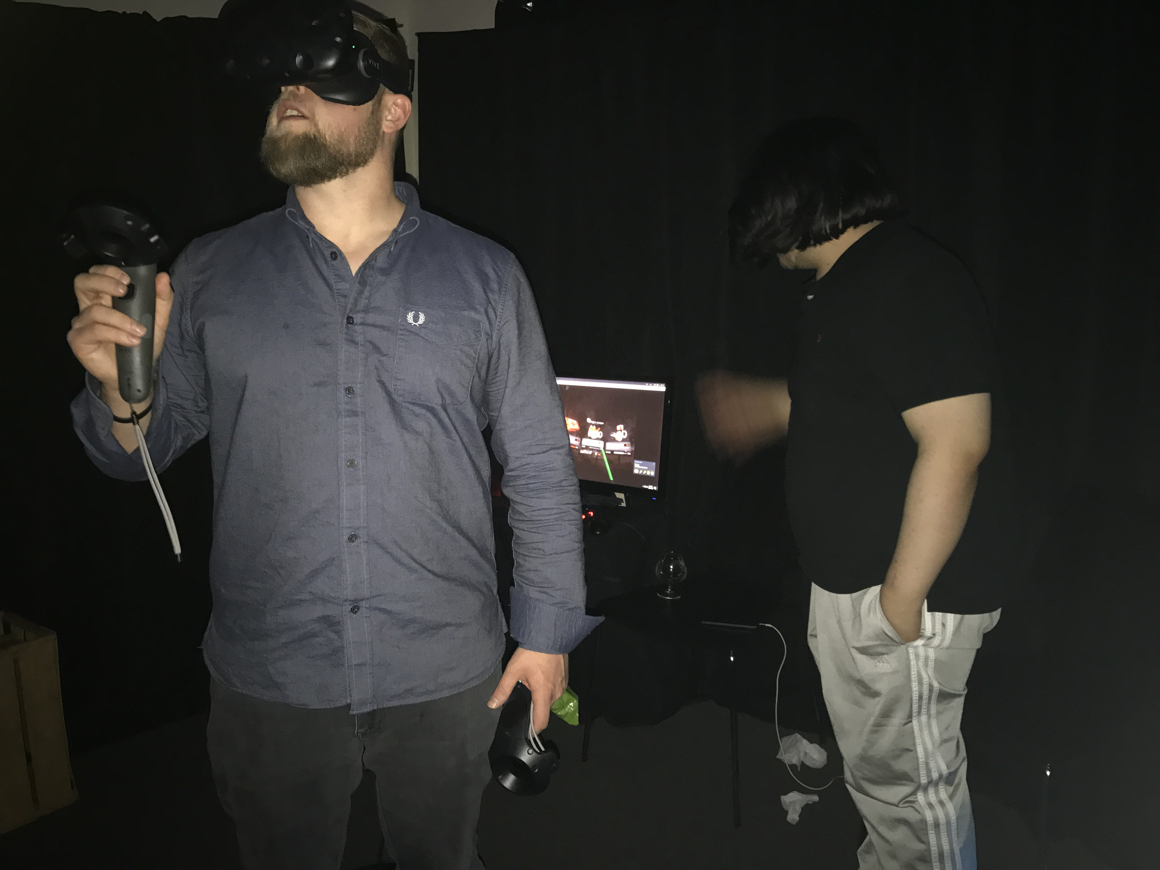VR Haunted House, Virtual Reality Haunted House, haunted houses denver, Justin Mskowitz, Epic Brewing, Megan Carthel