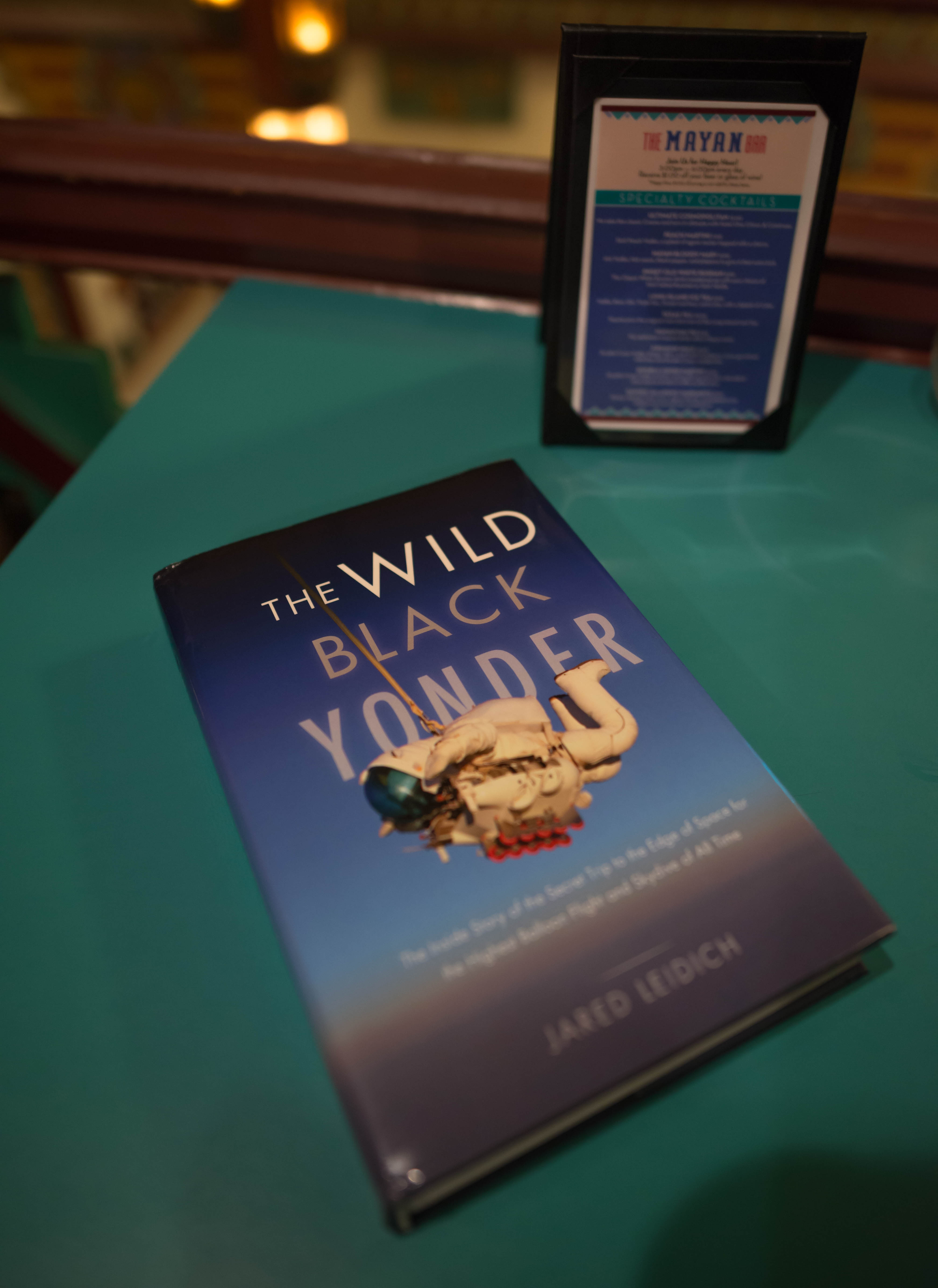 The Wild Black Yonder book launch at The Mayan Theater. Photo by Alden Bonecutter.