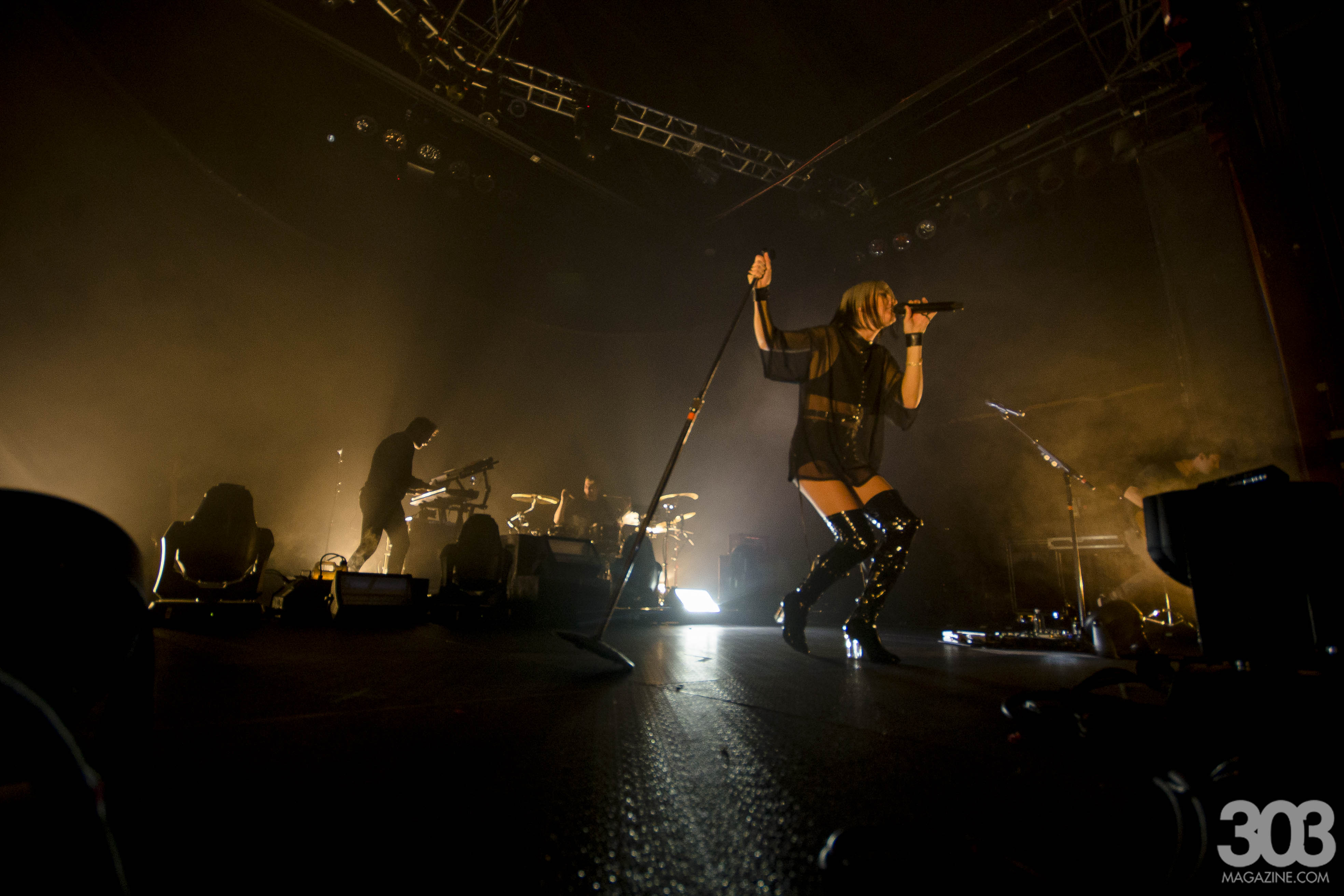 Phantogram, Fillmore, Denver, Three, Tyler Harvey, 303 Magazine
