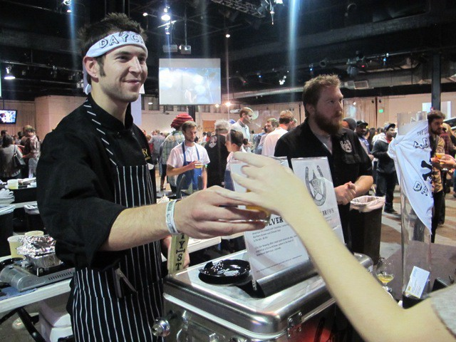 Chefs and enthusiasts interact at Chef and Brew 15'